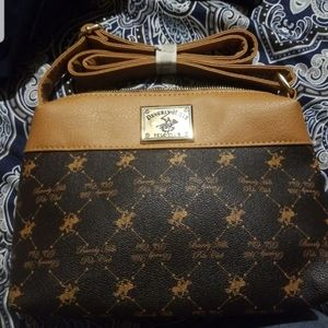bnwt Beverly Hills polo purse